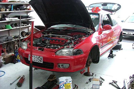 mantenimiento coche